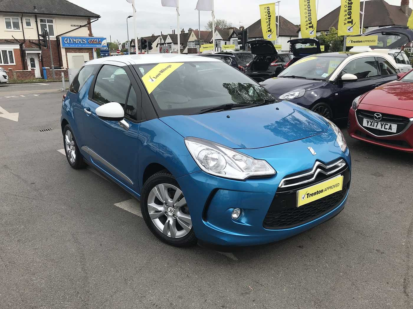 Citroen DS3 1.2 VTi 82hp DSign Plus 3-Door Hatchback